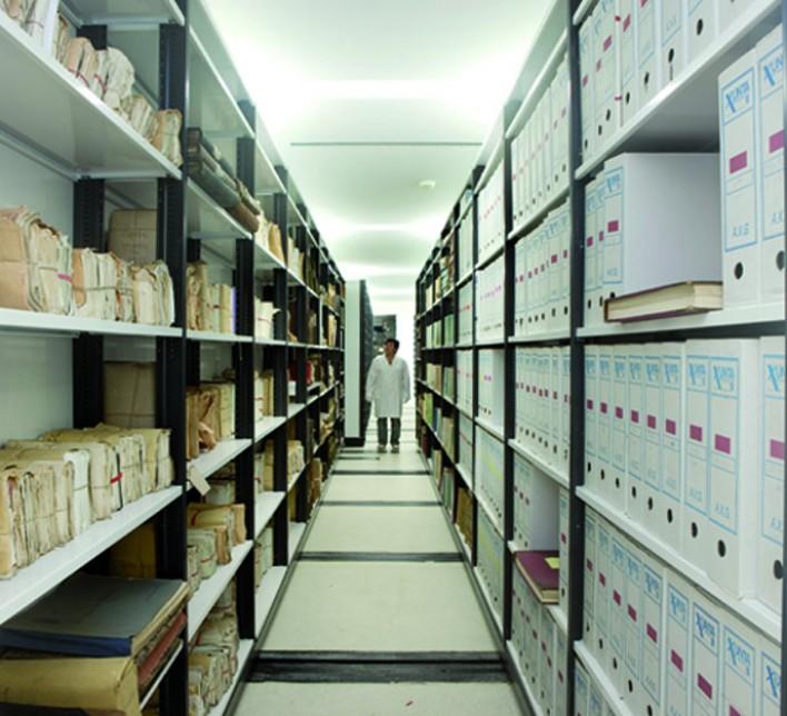 Bibliotecas de arquivos