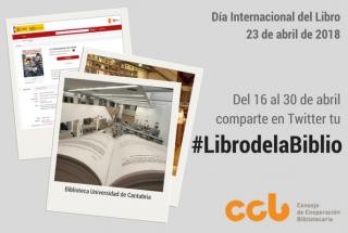Imaxe campaña #LibrodaBiblio