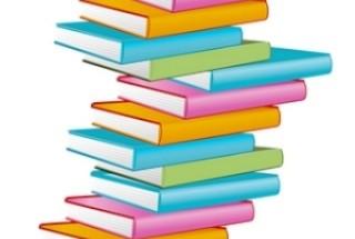 Pila libros colores