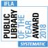 Logo Premio Biblioteca Pública do ano 2018